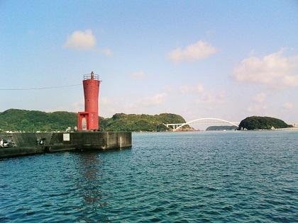 20140809串本漁港赤灯1