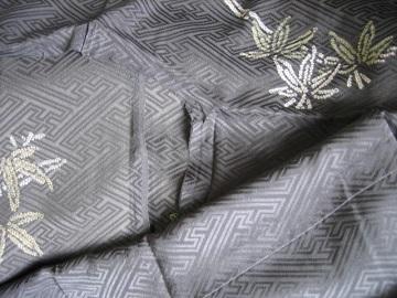 古い着物 羽織から長着1