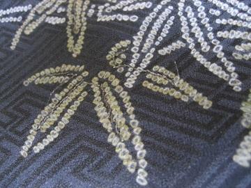 古い着物 羽織から長着2