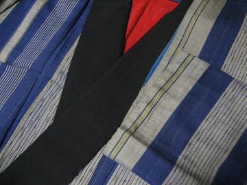 丸みのない袖1