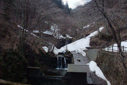 20140323②裏ヤビツの残雪