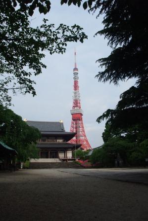 20140429②増上寺と東京タワー