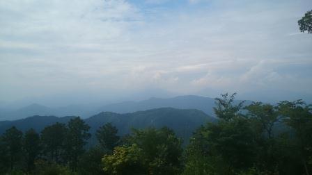 20140803高尾山⑤山頂からの景色