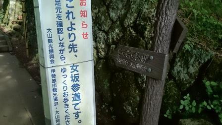 20140824大山②女坂へ