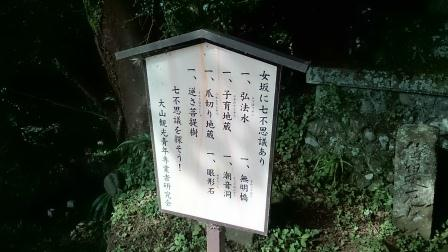 20140824大山③大山女坂7不思議