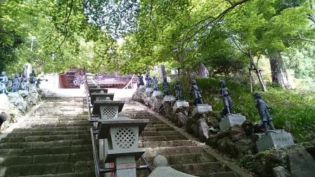 20140824大山④大山寺階段