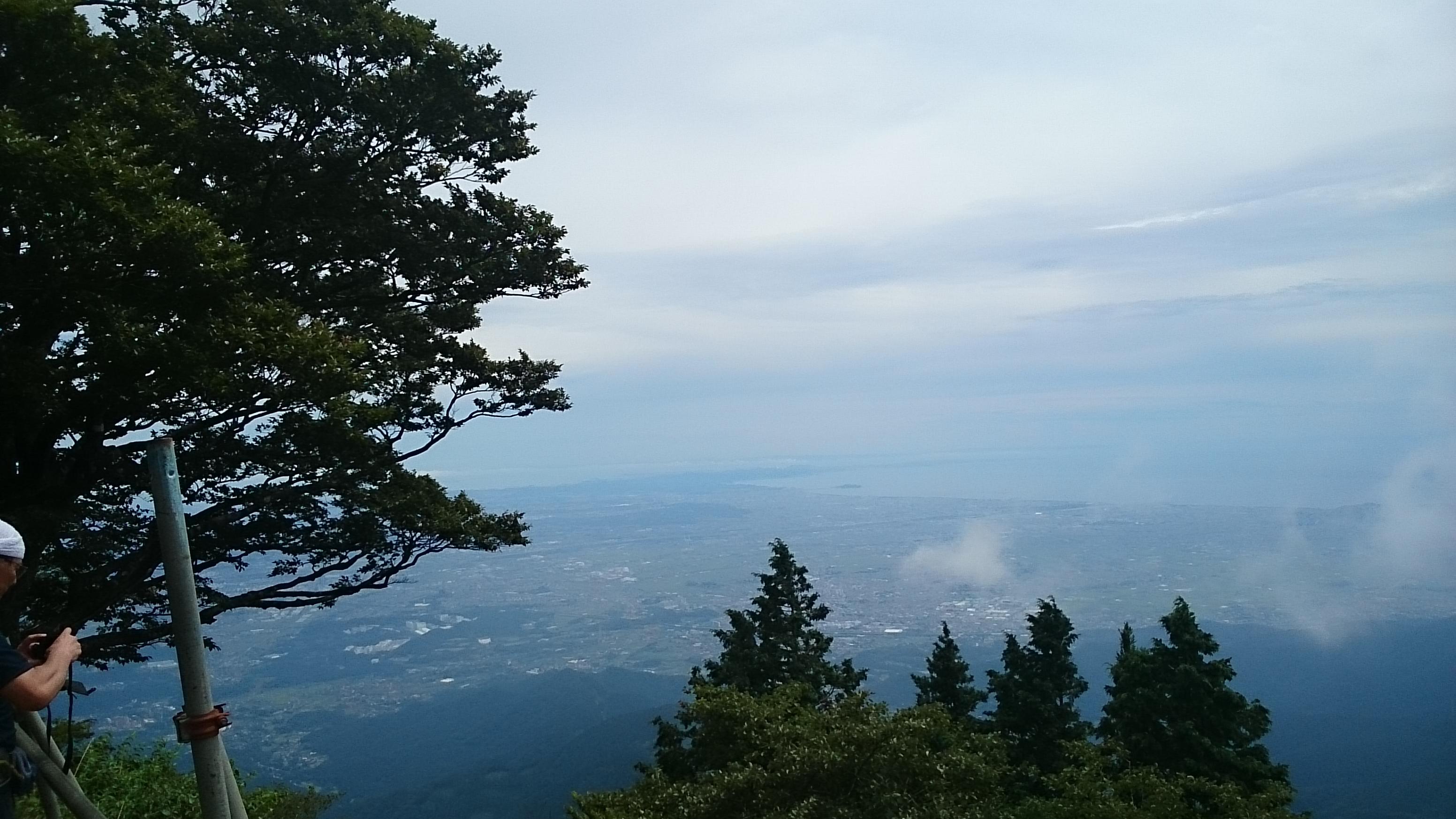 20140824大山⑪頂上からの景色