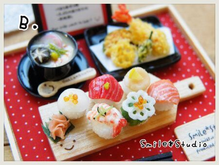 てまり寿司セットB