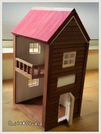 二階建てハウス①