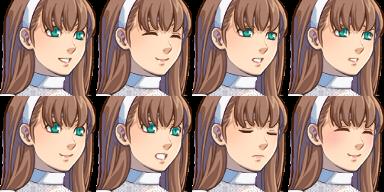 花嫁さん/顔グラ1-1