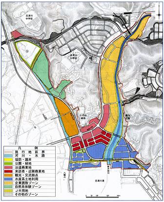 志津川市街地土地利用イメージ
