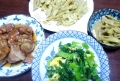 夕食2014.4.13
