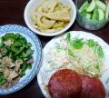 夕食2014.6.8