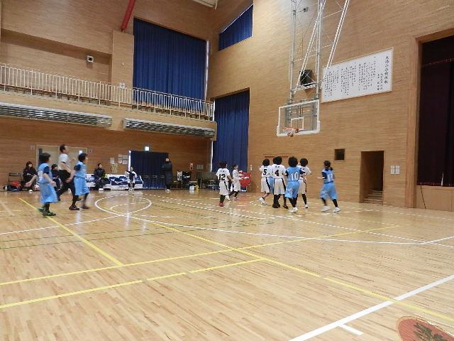 ミニバス練習試合大潟 013