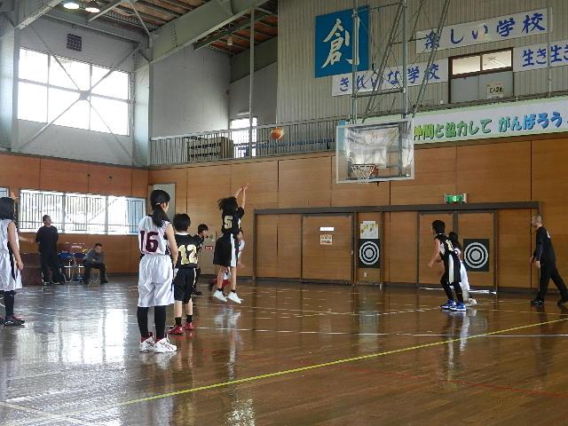 ミニバス練習試合 030