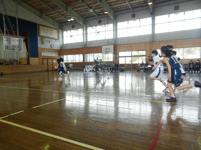 ミニバス練習試合 057