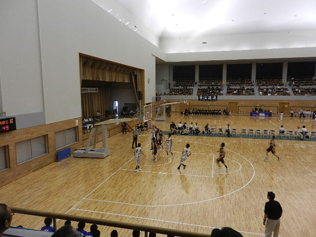 高校バスケ2日目 009
