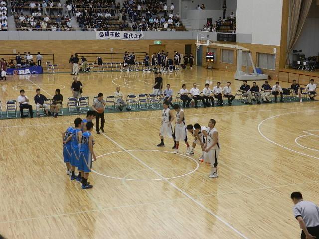 高校バスケ2日目 021