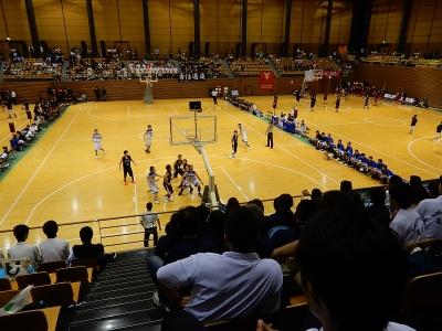 高校バスケ県体 036
