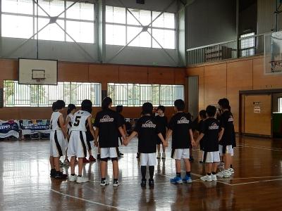 ミニバス練習試合 琴丘・秋大附 006