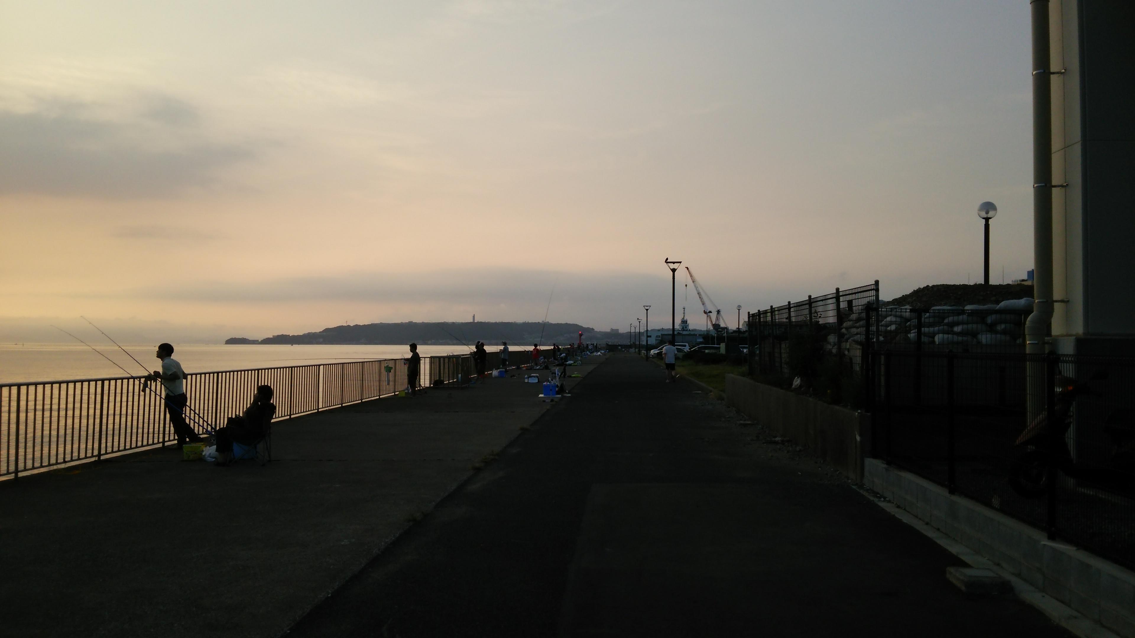 うみかぜ公園釣り場