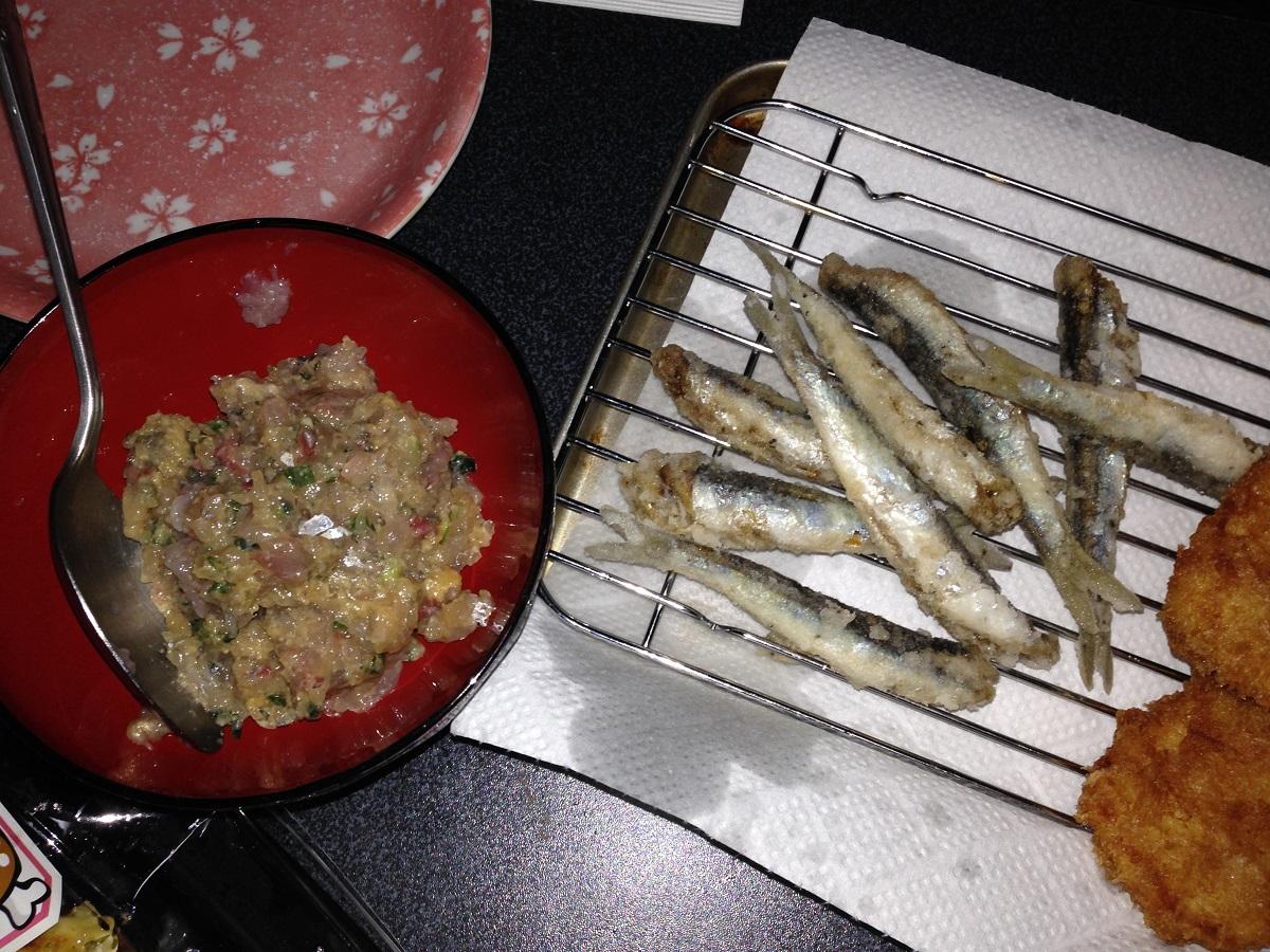 本牧での釣果を調理