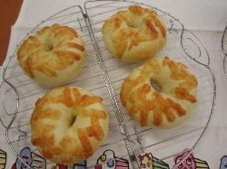 Oさん(妹さん)の枝豆チーズ2014-8-19