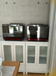 新しい教室 電気オーブン