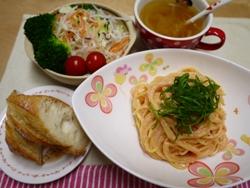 明太パスタ 2014-5