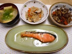 鮭定食 2014-5-2