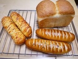 食パンとチョコとウィンナー 2014-7