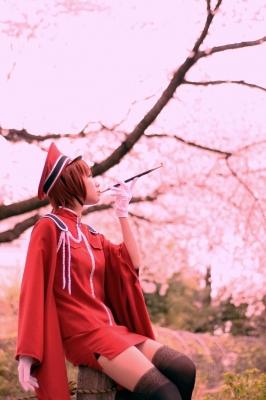 ボーカロイドMEIKO、千本桜衣装のコスプレ写真。豊島園にて撮影。
