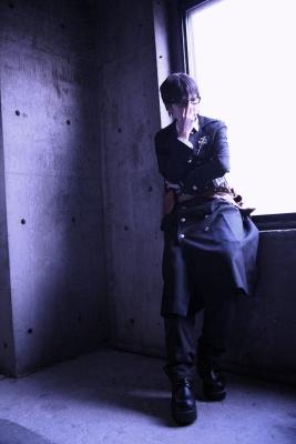 青の祓魔師の奥村雪男の男装写真。笹塚スタジオにてコスプレ撮影。