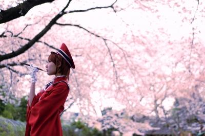 コスプレ画像。千本桜のMEIKO。としまえんで撮影