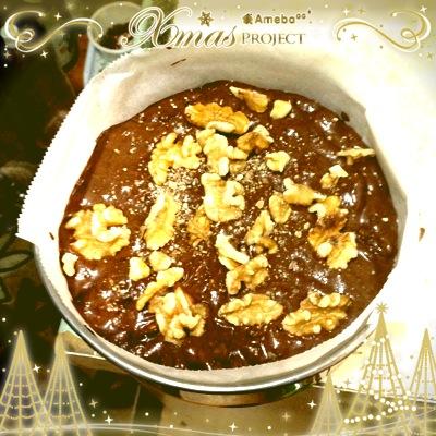 バレンタインレシピ 簡単チョコケーキ