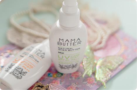 MAMA BUTTER(ママバター) UVケアミスト SPF20 PA++
