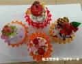 粘土で作るプチケーキ