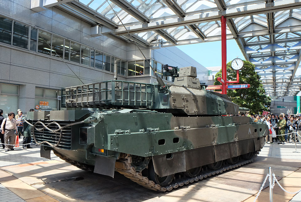 3984 10式戦車 960×645