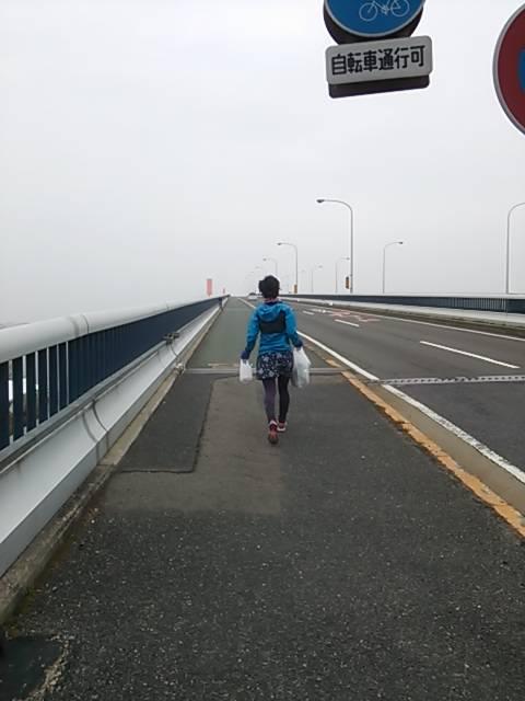 滋賀琵琶湖大橋お買い物ラン