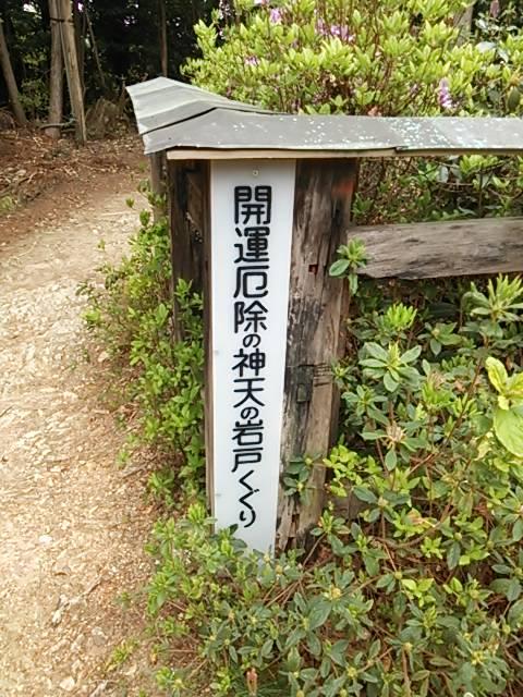 京都トレイル岩戸くぐり