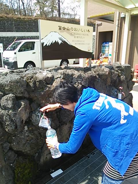 UTMF富士山の水