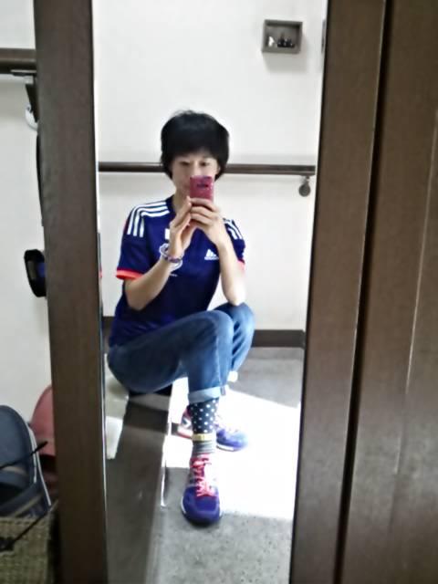 サッカー日本代表ユニ制服