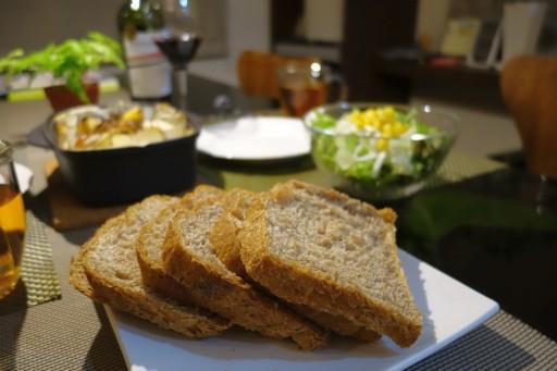 ホームベーカーリーでフランスパン
