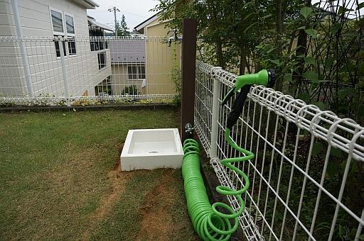 庭 立水栓