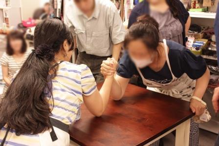 腕相撲20140706