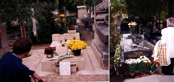 お墓モンタンピアフ