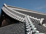 屋根漆喰,青海波、印籠数、一万個