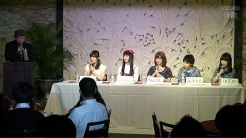 TVアニメ「げんしけん二代目」制作記者会見 生中継