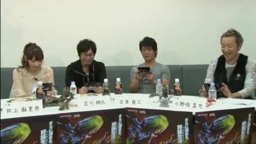 『モンスターハンター3(トライ)G』発売記念! 小野坂昌也・井上麻里奈のみんなで狩猟しちゃうぞ生放送!