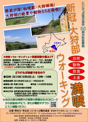 20140815_大狩部ウォーキングポスター